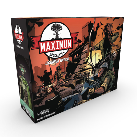 Maximum Apocalypse: Legendary Box and Miniatures (ONLY)
