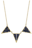 Deco Necklace in Navy