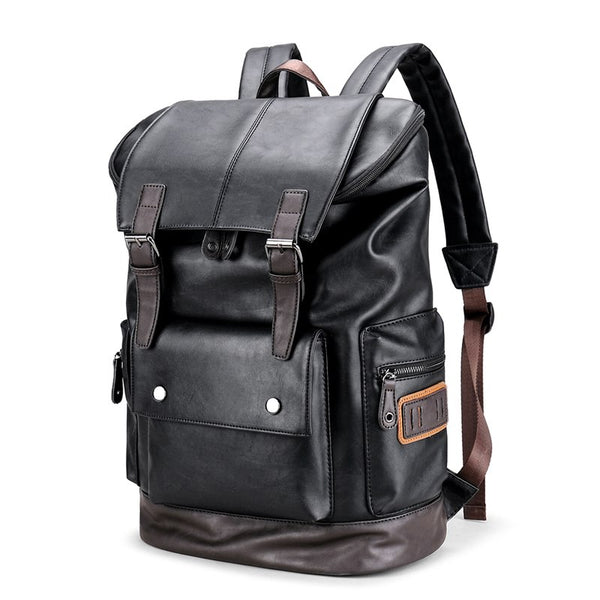 Men's Vintage Minimalist Backpack-The Hub Venue