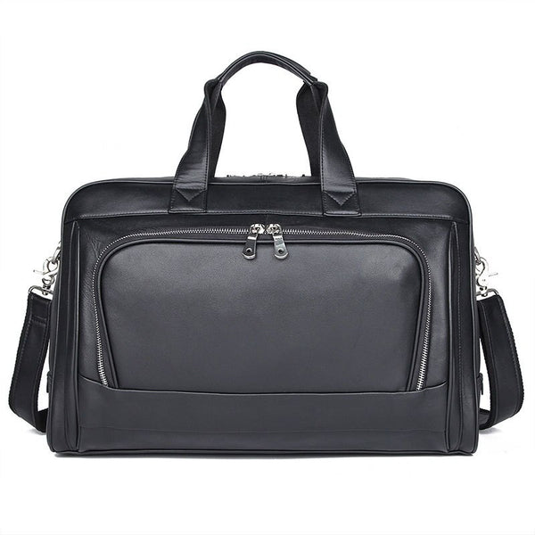 Men's Nappa Leather Travel Bag-the hub venue
