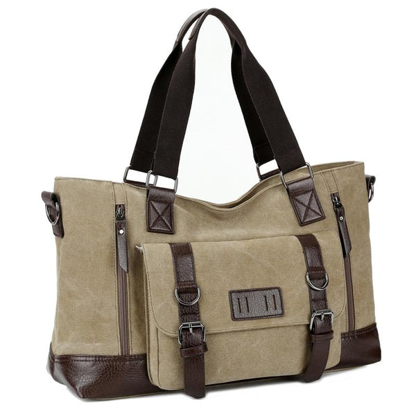 Retro Canvas Hand Bag-The Hub Venue