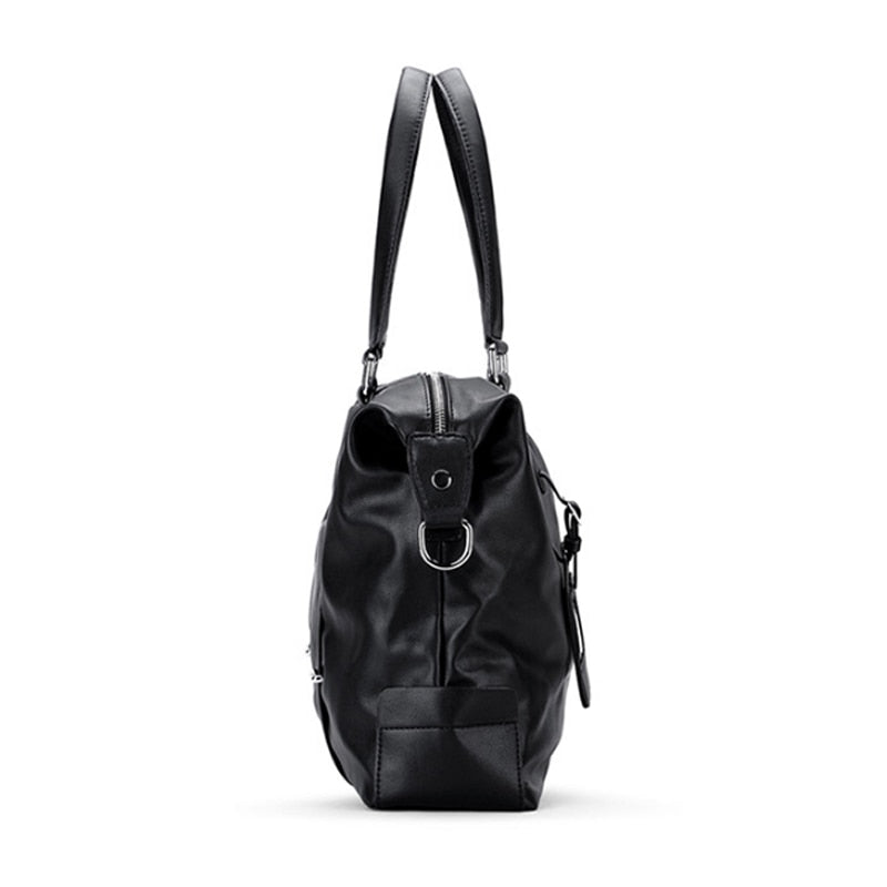 Men's Cross-Body Leather Hand Bag