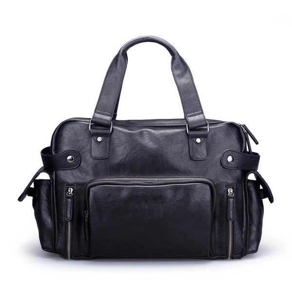 Men's Vintage Business Tote-The Hub Venue