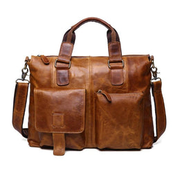 Men's Vintage Cross-body Messenger Bag-The Hub Venue