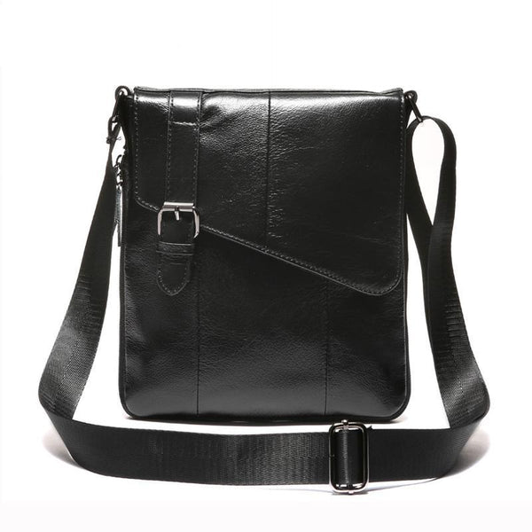 Men's Vintage Leather Shoulder Bag