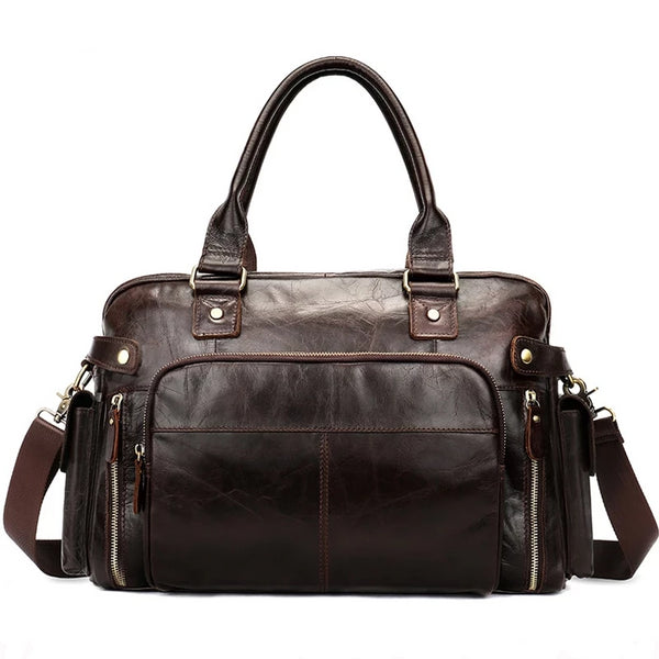 Men's Vintage Business Messenger Bag-The Hub Venue