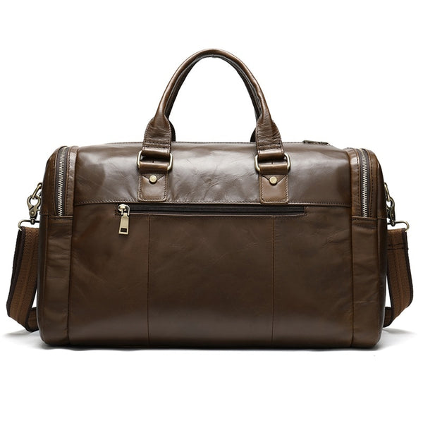 Men's Vintage Weekender Tote-The Hub Venue
