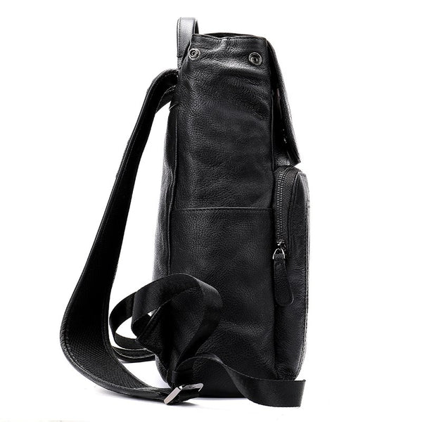 Men's Genuine Leather Backpack