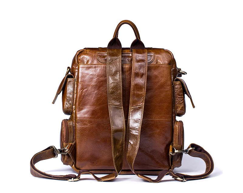 Men's Vintage Backpack-The Hub Venue