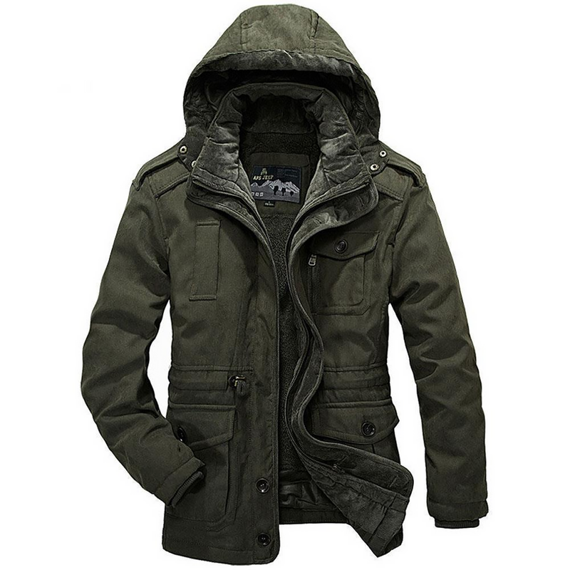 Men's Winter Military-Style Coat