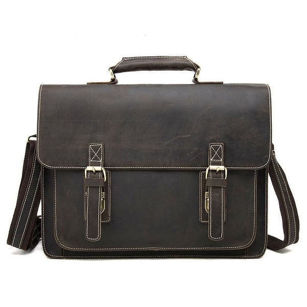 Men's Vintage Messenger Bag-The Hub Venue