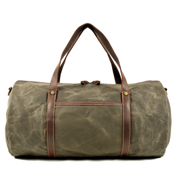 Men's Retro Canvas Gym Duffel-The Hub Venue