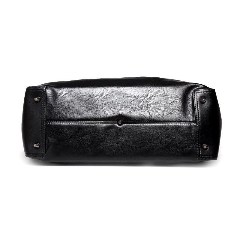 Vintage All-Black Neo Duffel - Mens Bags