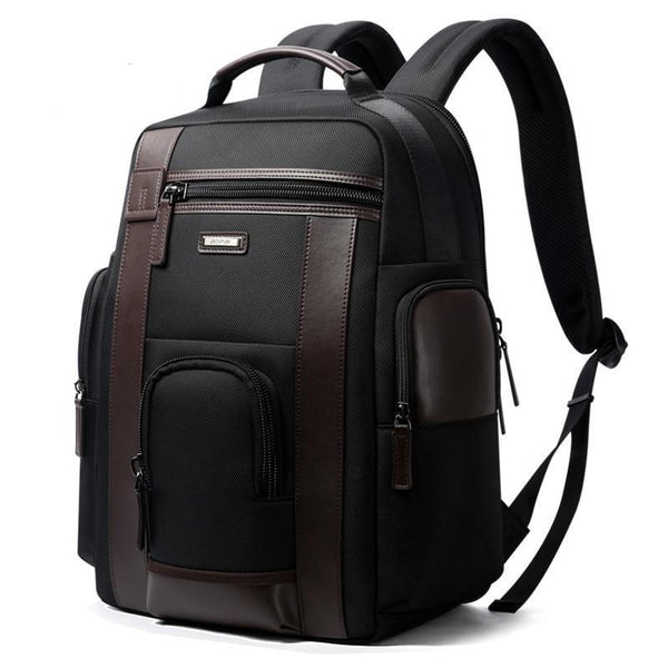 Merino Smart Backpack - Black - Mens Bags-The Hub Venue