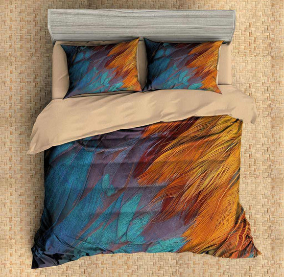 3D Customize Feather Bedding Set Duvet Cover Set Bedroom Set Bedlinen