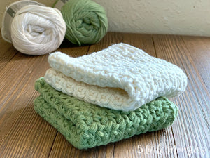 Crochet Dishcloth Kit