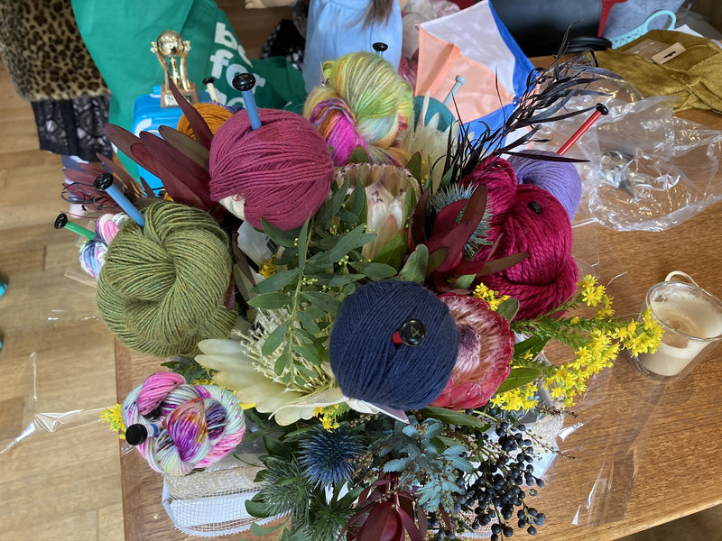 Yarn Bouquet - Taster