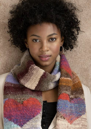 NORO Heart  Kit Scarf Kit