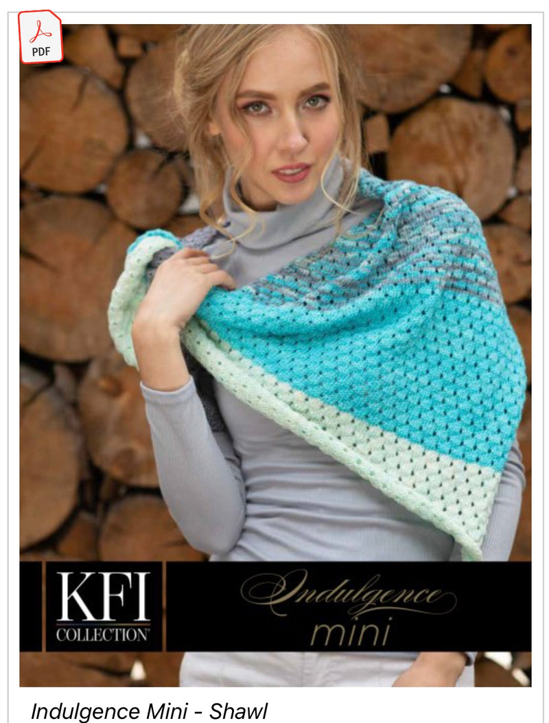 Indulgence Shawl kit