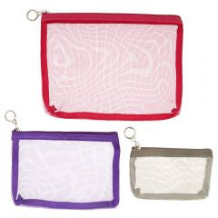 Knit pro Mesh Zippered Pouches
