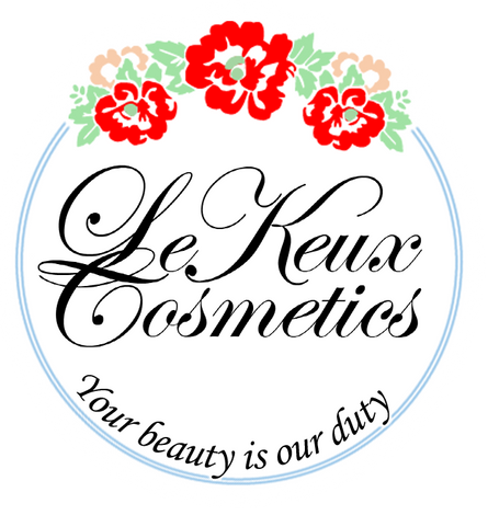"All tems from ""Le Keux Cosmetics"""