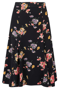 Balboa Skirt in Mayflower, Classic & Authentic 1940s Vintage Inspired Style