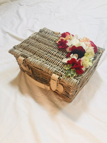 Classic Bags In Bloom Vintage Inspired Dolly Basket - RocknRomance Clothing