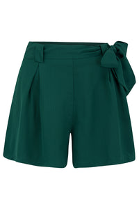Emma vintage styled Tap Shorts in Green - RocknRomance True 1940s & 1950s Vintage Style