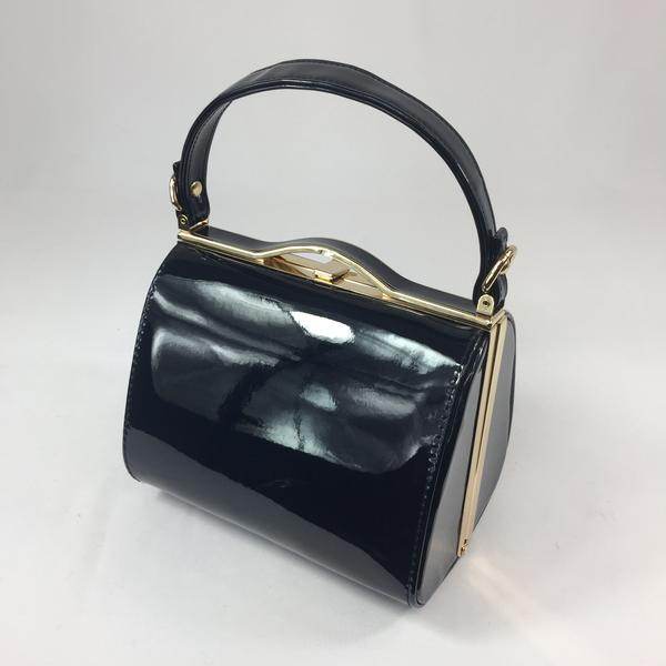 What Did Women Wear in the 1950s? 1950s Fashion Guide Vintage Inspired Kelly Hand Bag In French Navy £39.00 AT vintagedancer.com