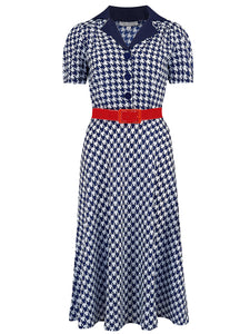 "NEW ""Lola"" Shirtwaister Dress in Limited Edition Multi Stripe, Perfect 1950s Style"