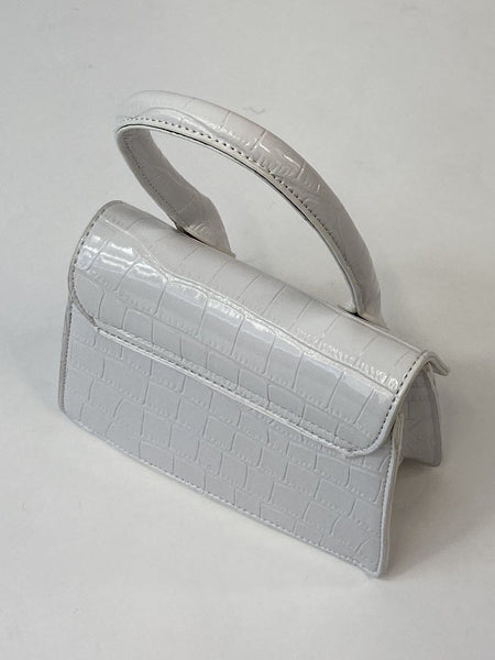Classic Vintage May Purse In white - RocknRomance True 1940s & 1950s Vintage Style