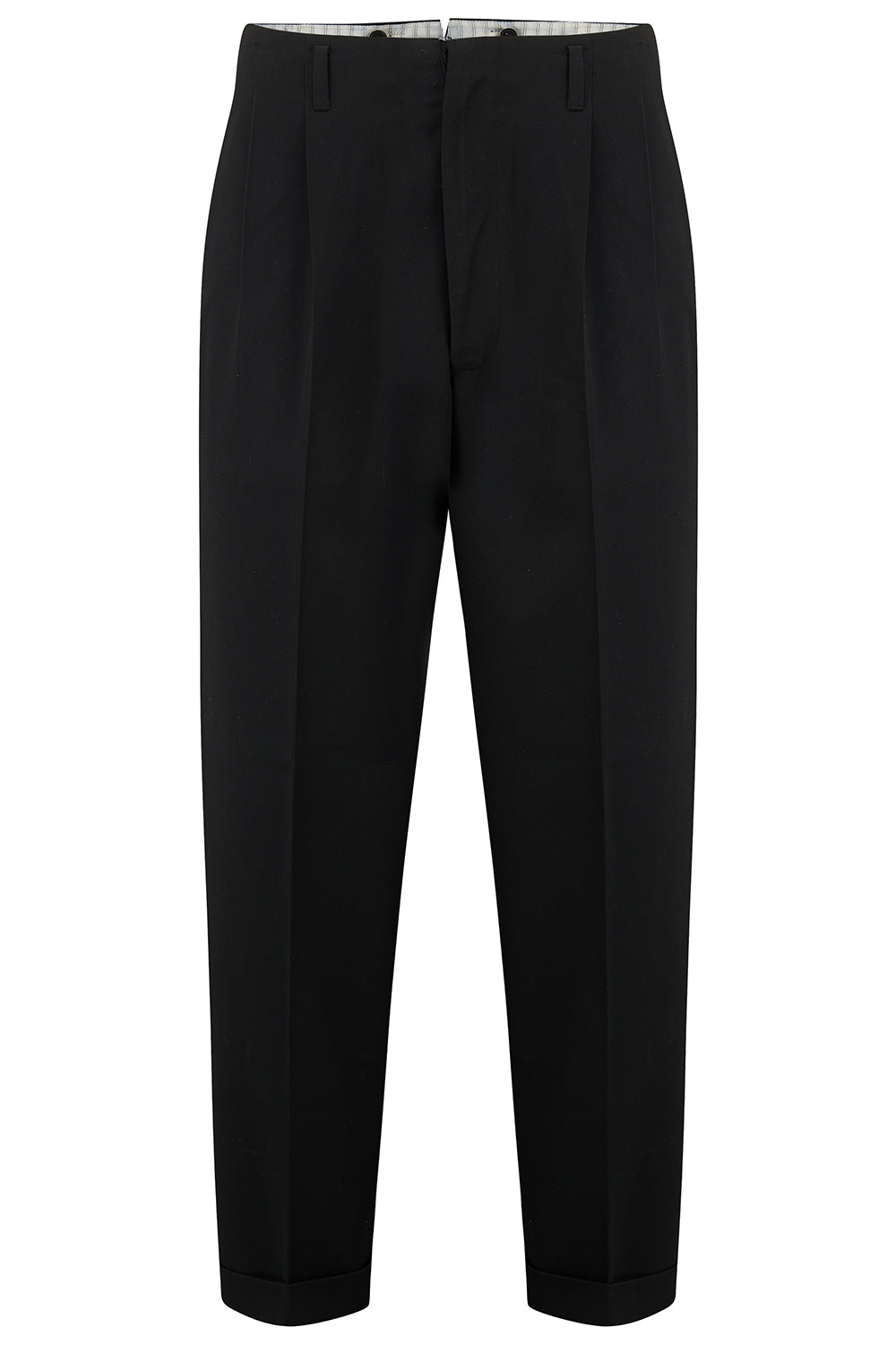 Mens 1950's Peg Trousers Classic Vintage Style by The Seamstress of Bloomsbury