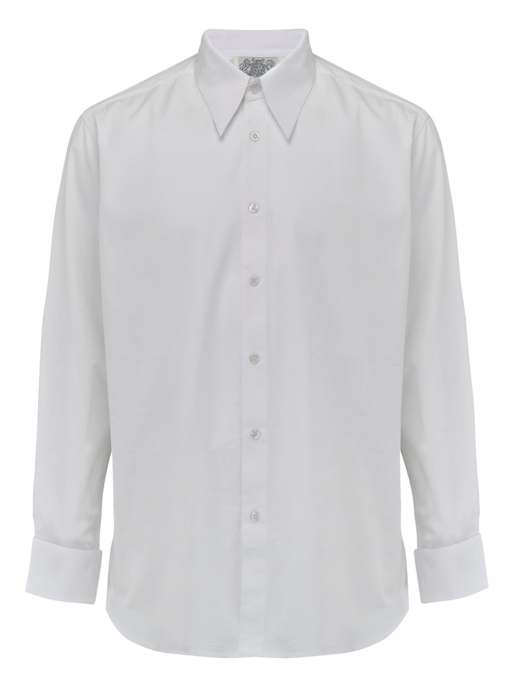 Mens 1940's Vintage Inspired Spear-point Collar Shirt by The Seamstress of Bloomsbury