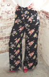 "The 1940s Vintage Inspired ""Winnie"" Trousers  in Mayflower Print by The Seamstress of Bloomsbury"
