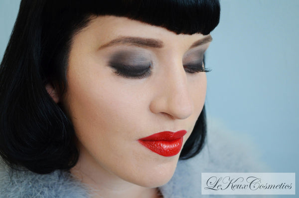 Duel End Lip & Eye Liner Brush by Le Keux Cosmetics