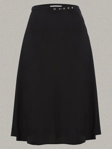 Classic 1940s Skirt in Plain Black made by The Seamstress Of Bloomsbury