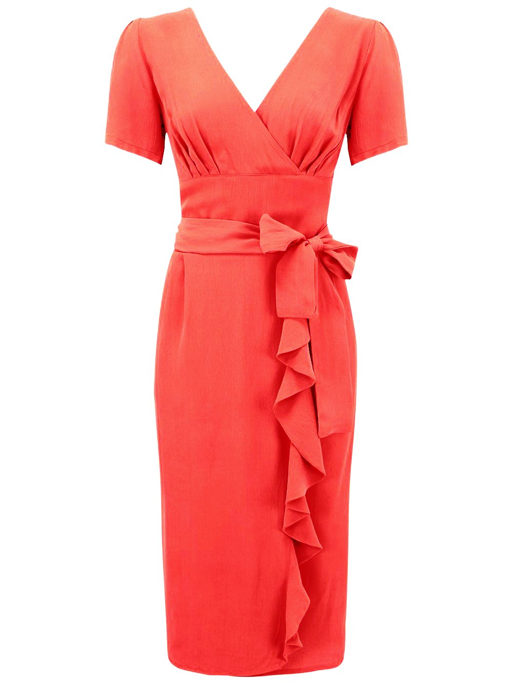 """Lilian"" Dress in Red by The Seamstress of Bloomsbury, Classic & Authentic 1940s Vintage Style"