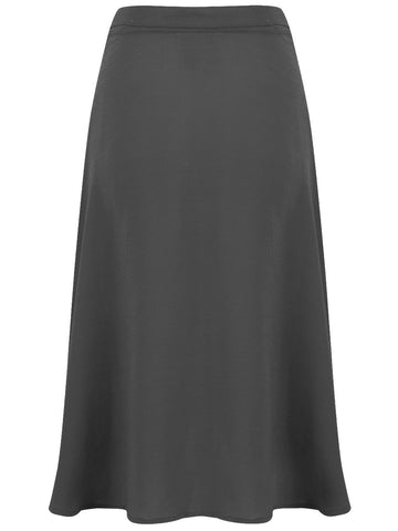 Circle Skirt in Black by The Seamstress Of Bloomsbury, Classic & Authentic Vintage 1940s Style