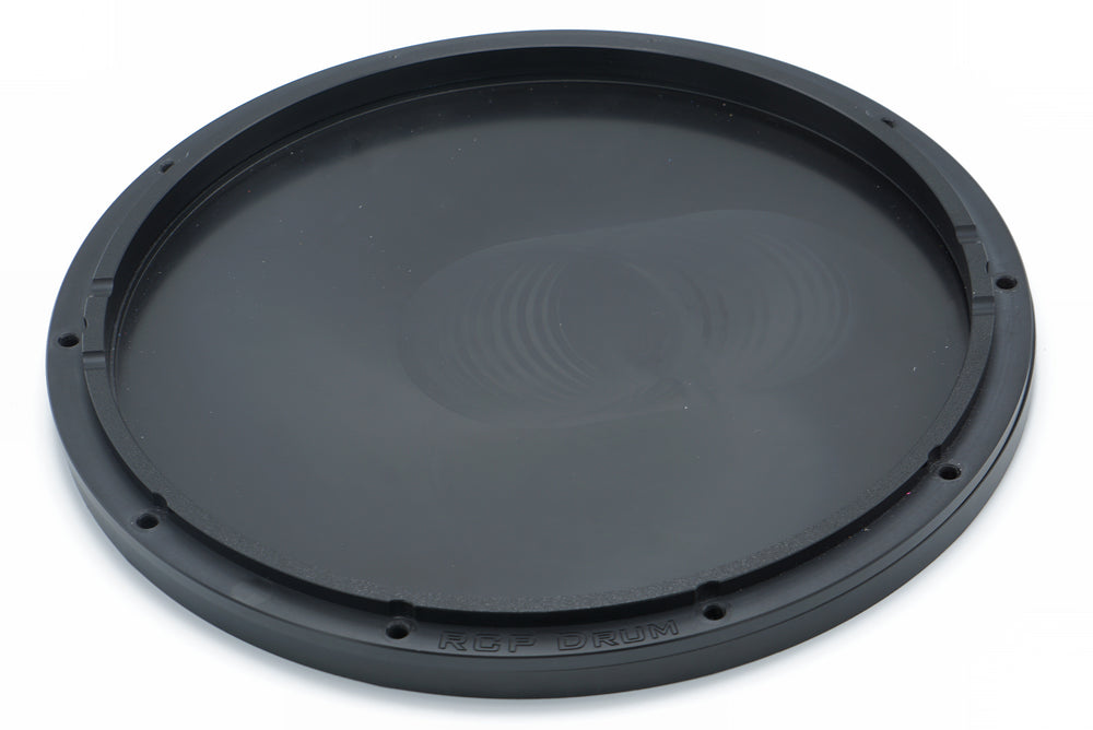 "RCP Drum 13"" Black Replacement Base and Hoop ONLY - RCP Drum Company"