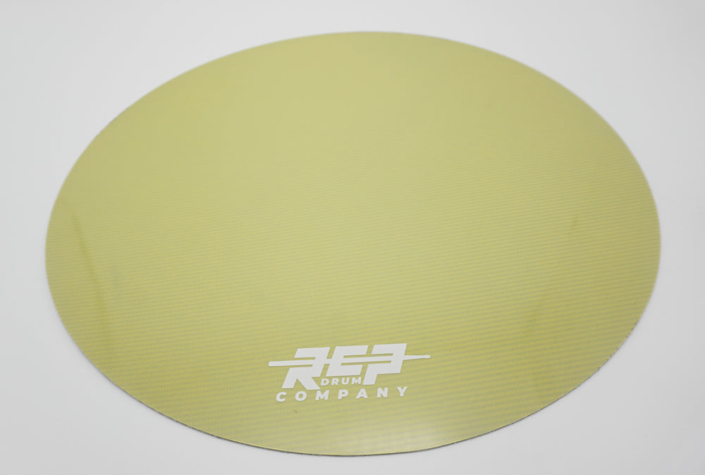 "RCP Drum 14"" Active Snare Drum Practice Pad Kevlar Head Fortune Cookie"