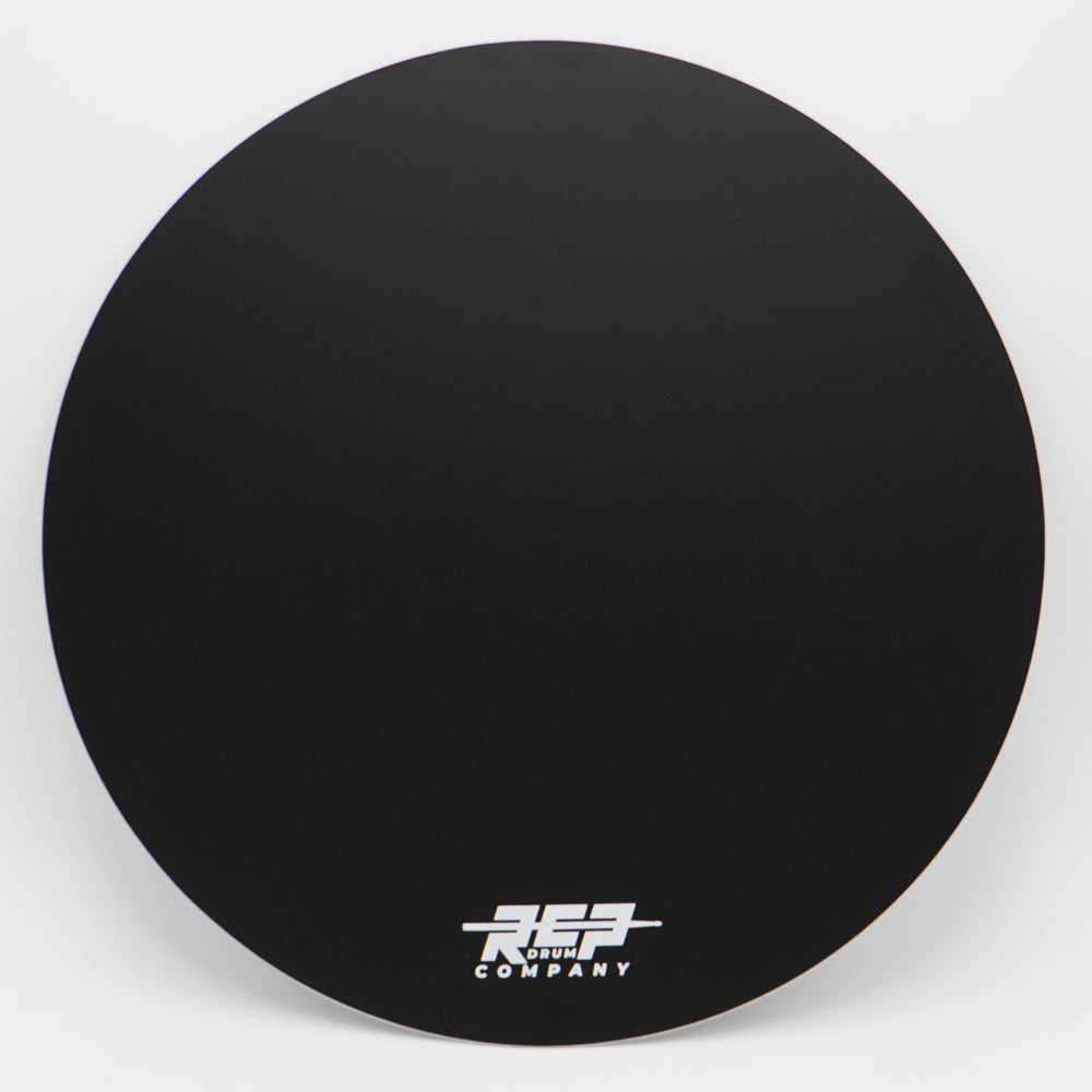 "RCP Drum 14"" Active Snare Drum Practice Pad Black Laminate Head"
