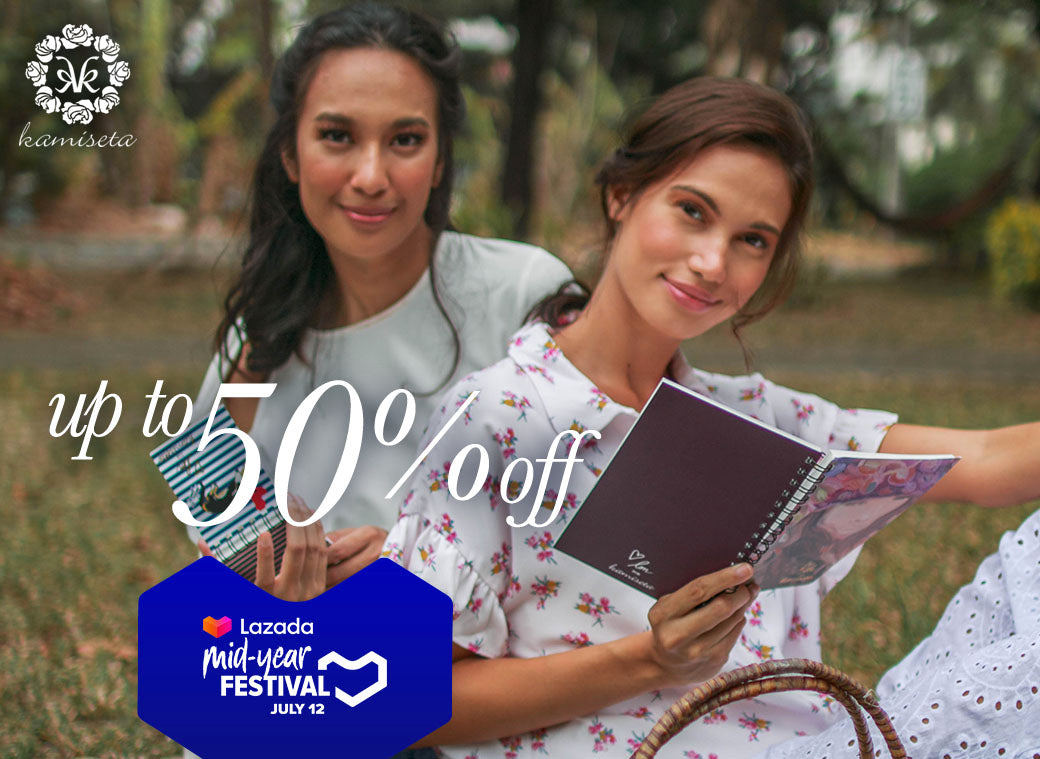 Shop for your Kamiseta faves at Lazada Midyear Sale