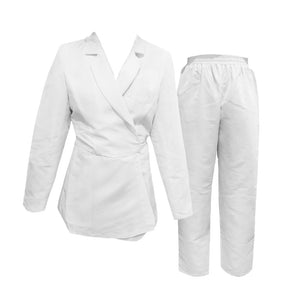 DAILY WEAR FASHION PPE - WRAP BLAZER WITH PANTS