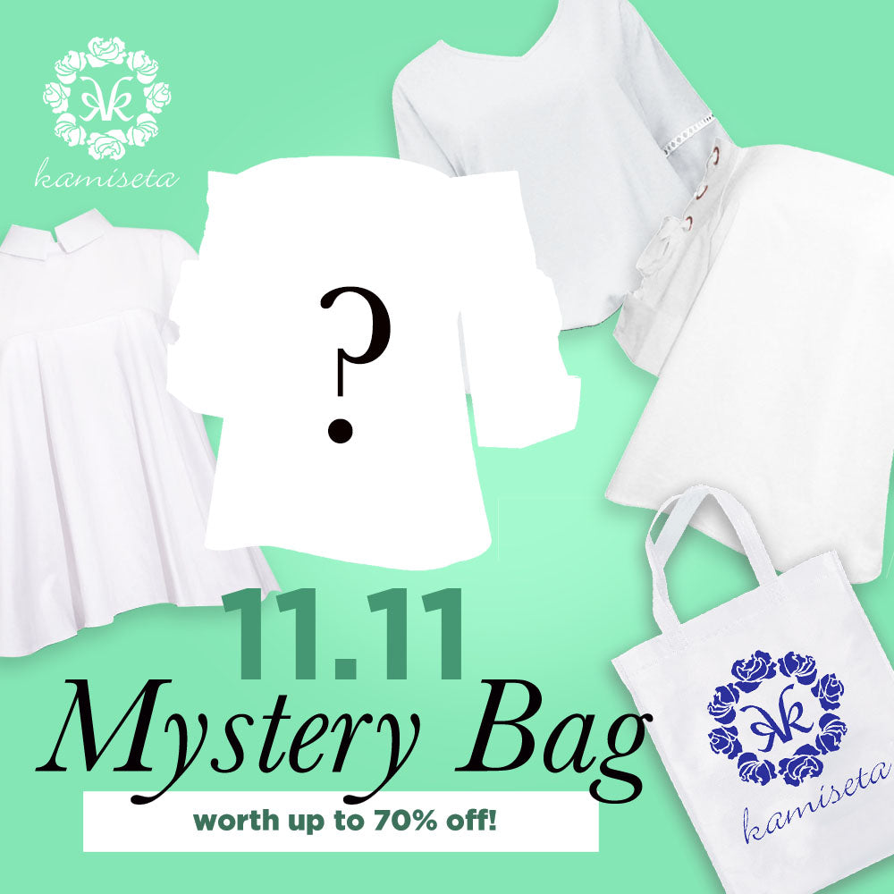 MYSTERY BAG - ALL WHITE
