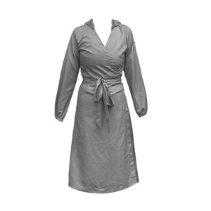 DAILY WEAR FASHION PPE - WRAP AROUND DRESS