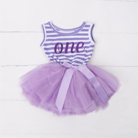 1 2 Years Birthday Girl Dress Newborn Baby Girls 1St First Party Dresses Casual Kids Clothes Princess Vestido - Qokoz.com