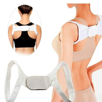 1 Pc Therapy Posture Corrector Brace Shoulder Back Support Belt For Men Women Braces & Supports