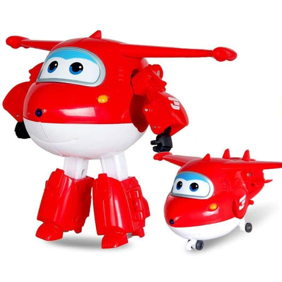13 Style Big Super Wings Deformation Airplane Robot Action Figures Wing Transformation Toys For Children Brinquedos