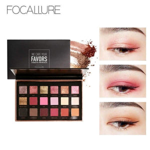 18 Colors Eyeshadow Palette Hudas Matte Diamond Glitter Metallic Eye Shadow In One Blush Makeup Set