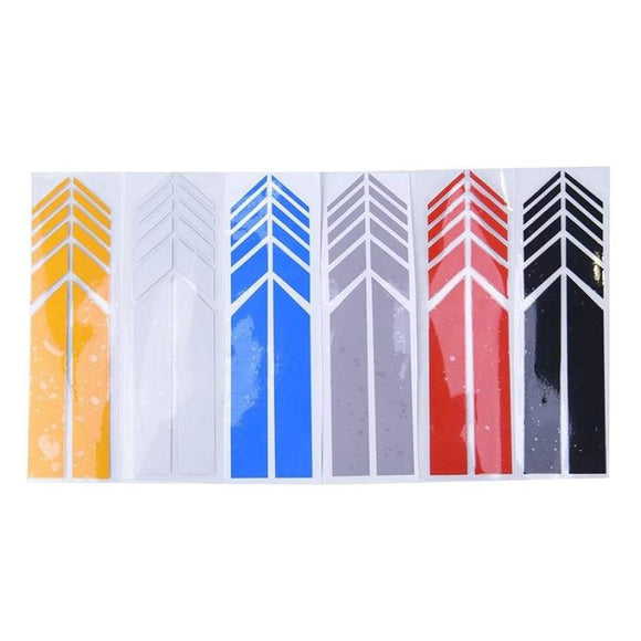 1Pair Auto Graphic Car Sticker Rearview Mirror Side Decal Stripe Diy Body Decals Styling